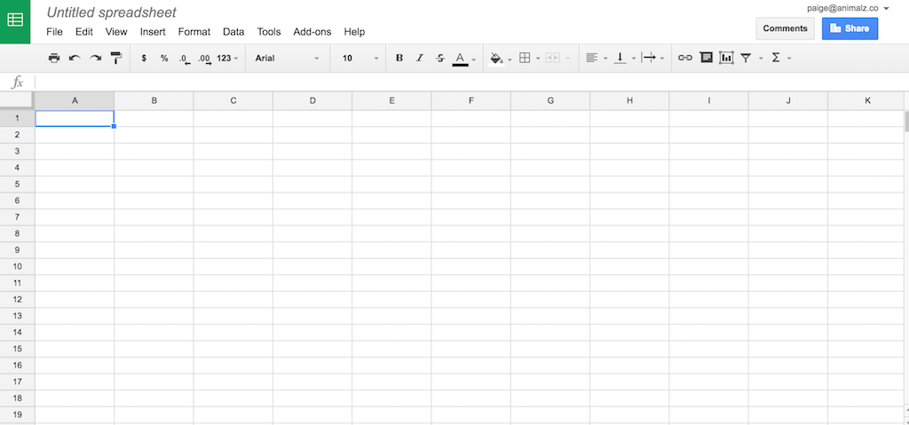 Microsoft Excel vs. Google Sheets