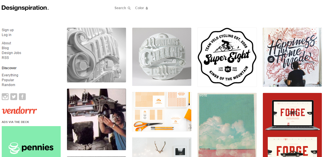 8 Incredible Online Resources for Creative Design Inspiration