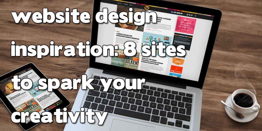 Website Design Inspiration header image
