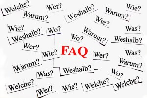 FAQ page, FAQ, FAQs, questions, customers, CRM, answers