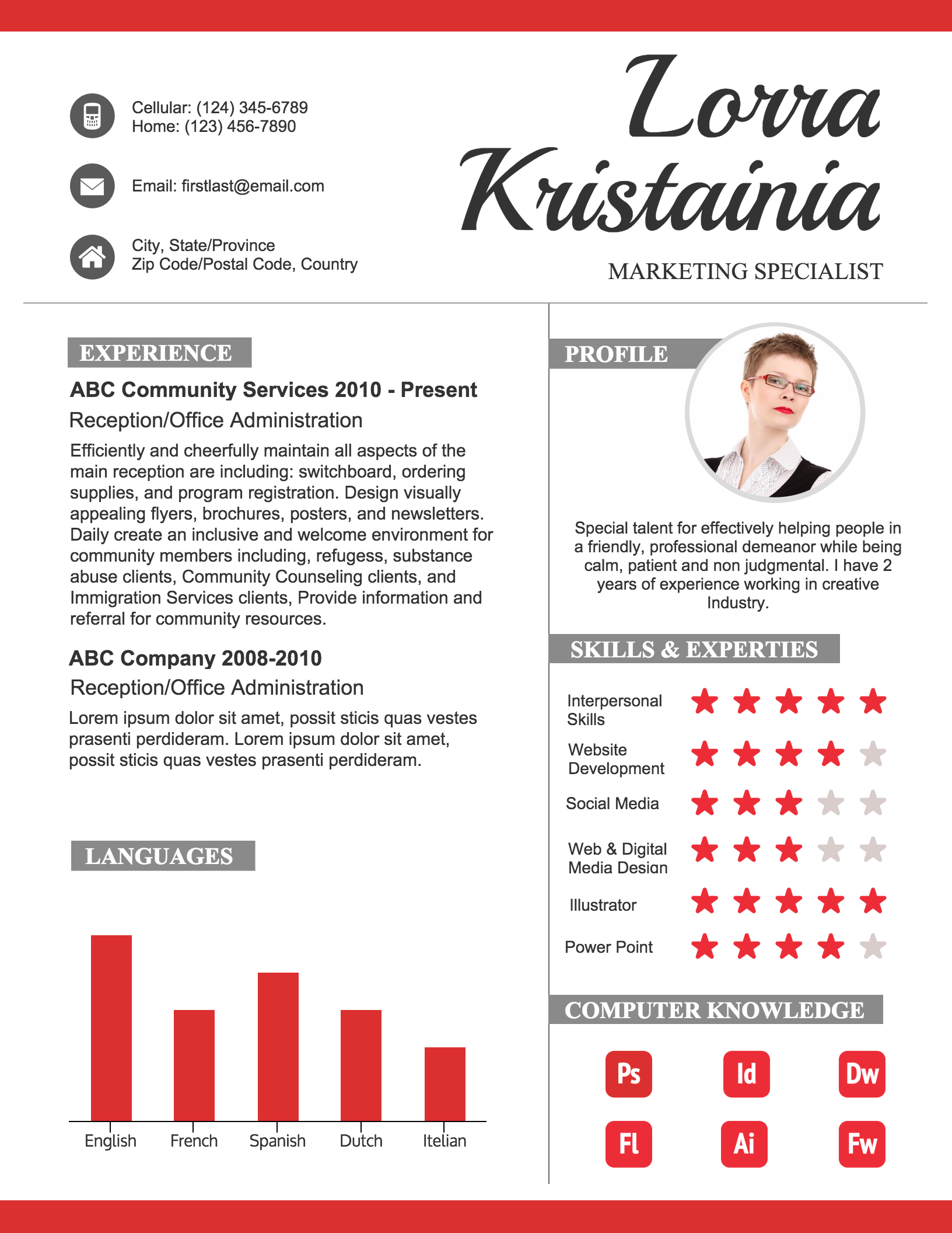 Infographic Resumes practical bold infographic resume How To Create A Polished Infographic Resume Infographic