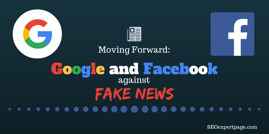 Google and Facebook against Fake News