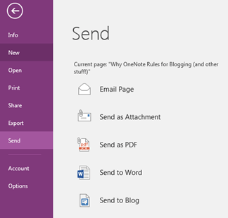 Why OneNote Rules for Blogging (And Other Stuff!)