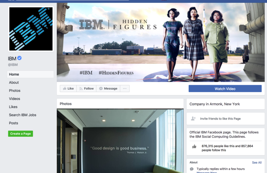 IBM Facebook Page - using FB live in your B2B PR.