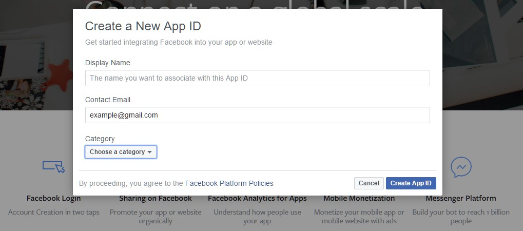 How to integrate facebook login into your site after you successfully created your app and got past the captcha select facebook login from the product setup menu stopboris