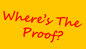 Image result for where's the proof