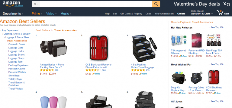 exemples de best-sellers e-commerce