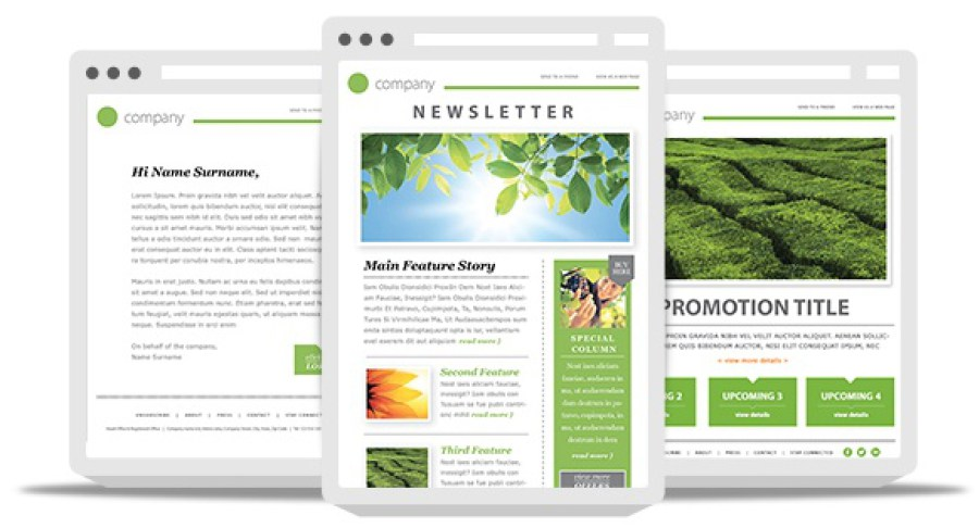 Awesome Newsletter Template Responsive Free