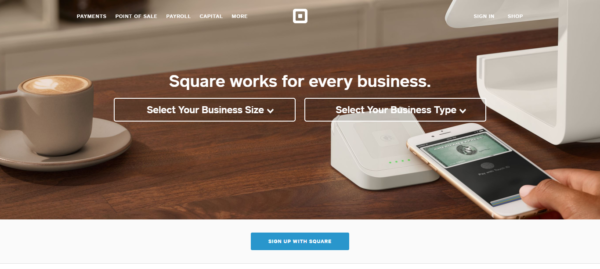 stripe paypal square braintree squareup home
