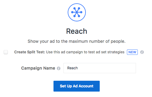 reach campaign for instagram ads