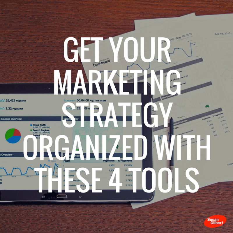Get Your Marketing Strategy Organized With These 4 Tools