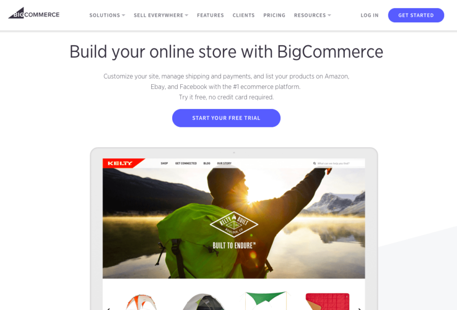 BigCommerce offers a number of advanced features for e-commerce stores