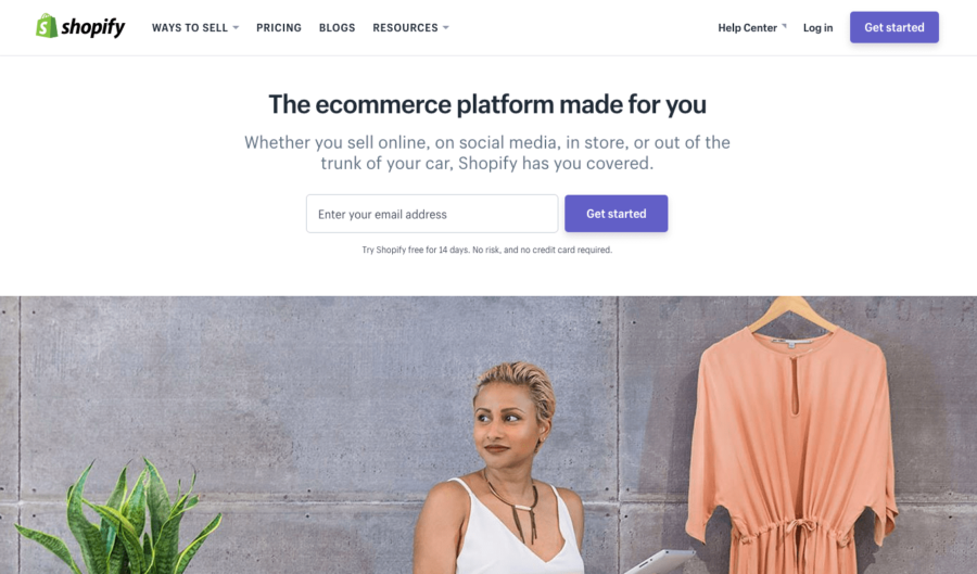 Shopify is one of the best-known names in the e-commerce business
