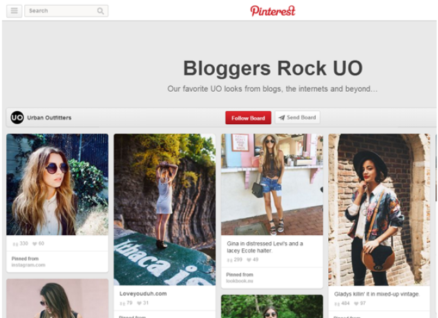 Pinterest to sale