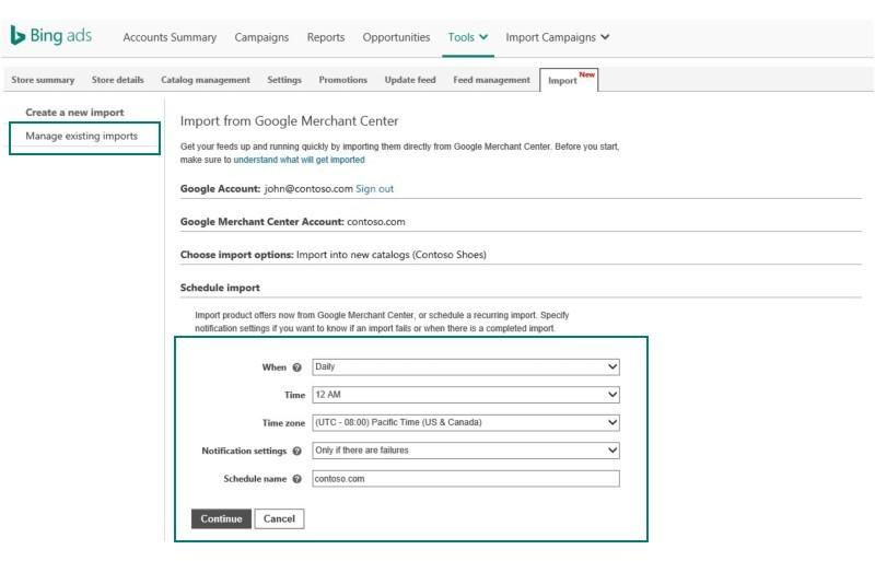 merchant-center-management-bing-ads-scheduled-imports