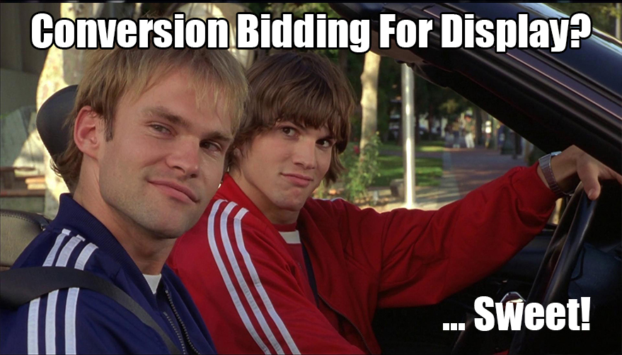 google display conversion-based bidding