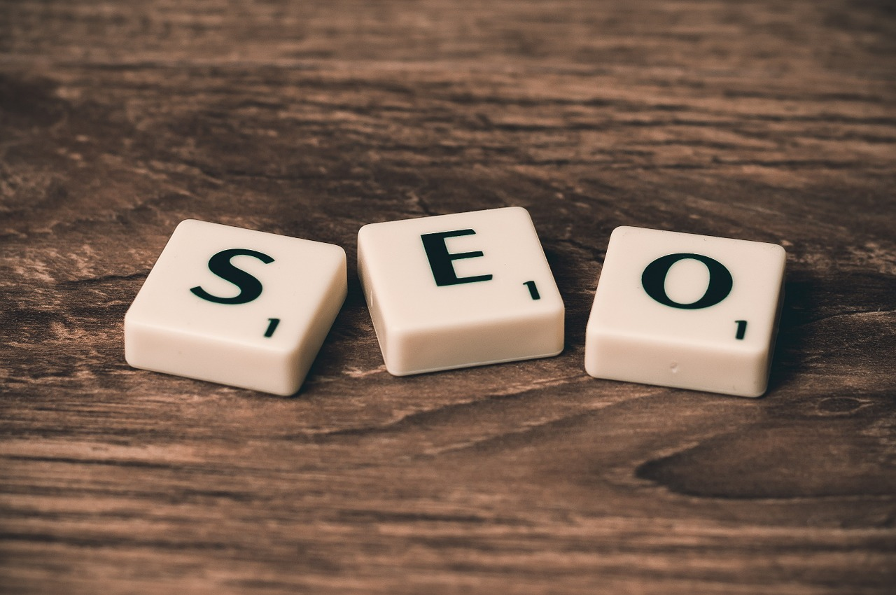 scrabble SEO blocks for marketing