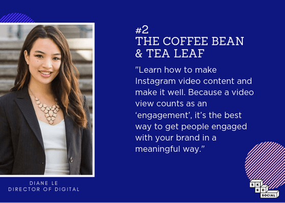 The Coffee Bean - Instagram Strategy