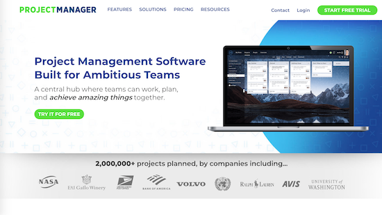 projectmanager project management tool
