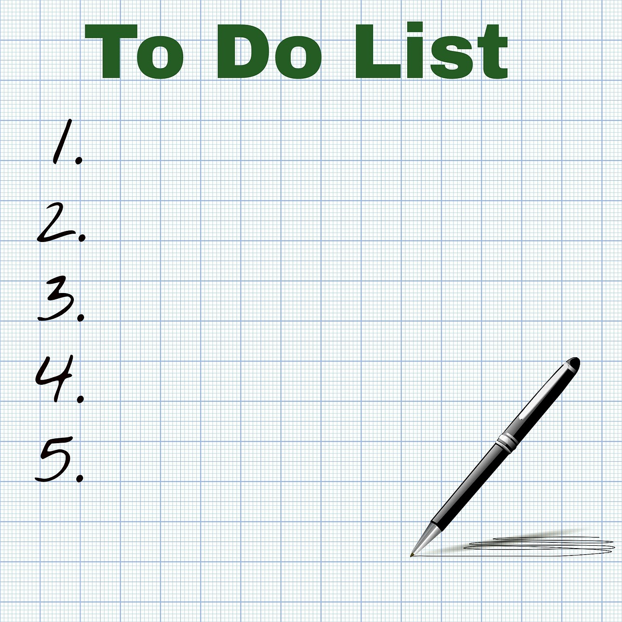 Make a to do list