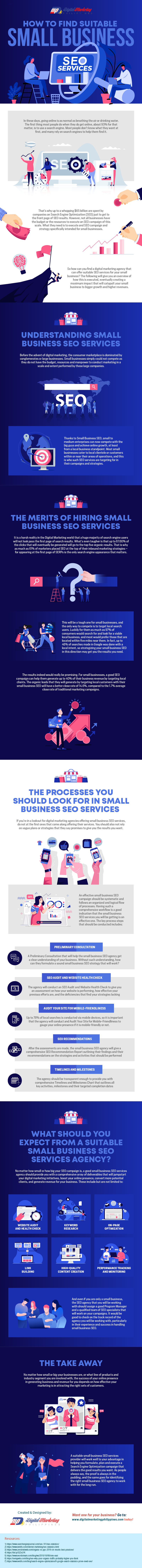 How to Obtain Suited Smaller Business Seo Companies [Infographic]