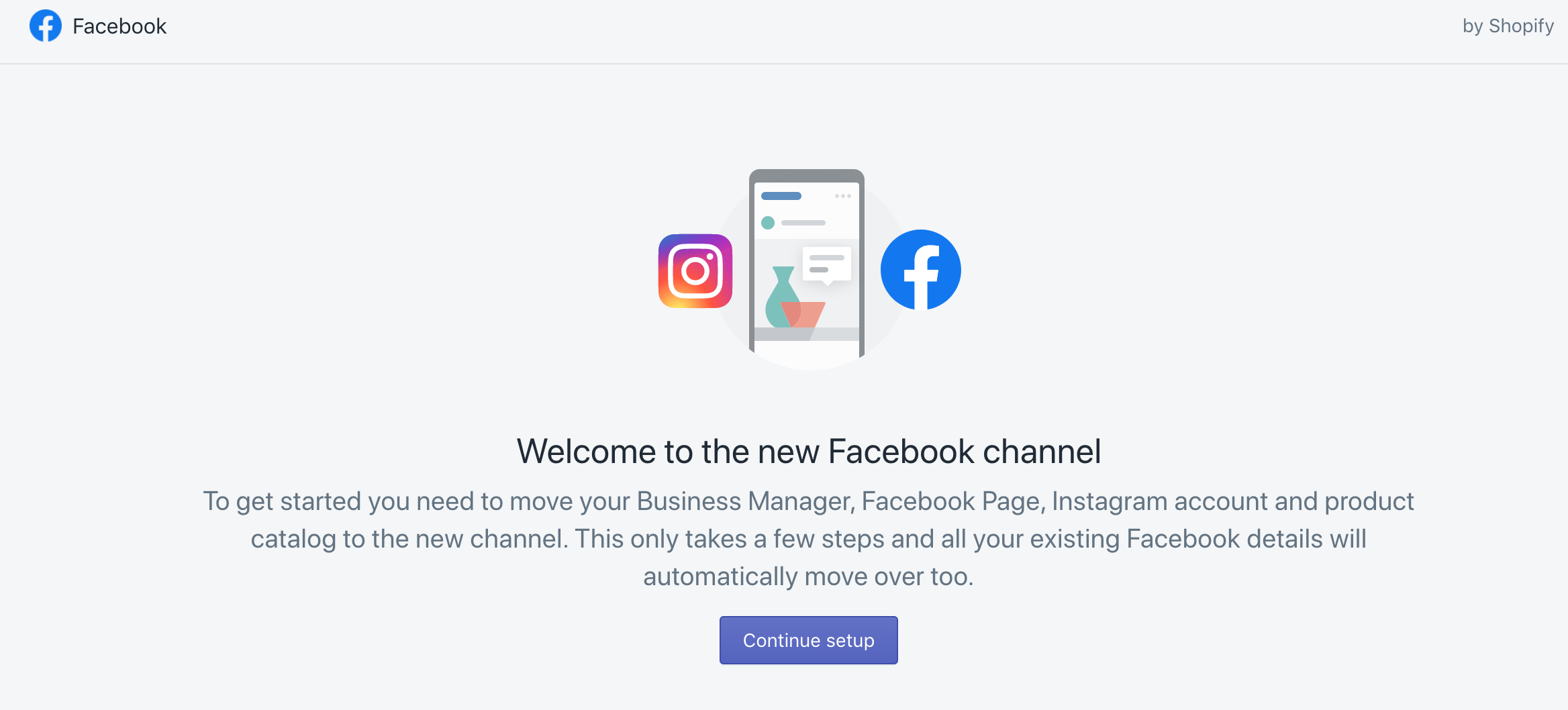 facebook channel shopify