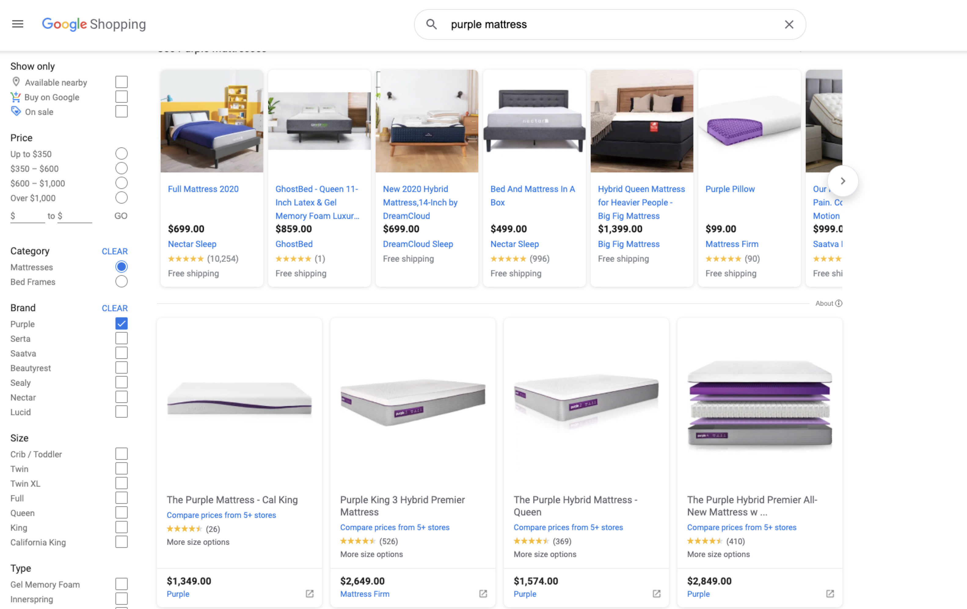 Googles comparison shopping engine, Google Shopping