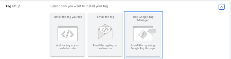 google ads for local business tag setup
