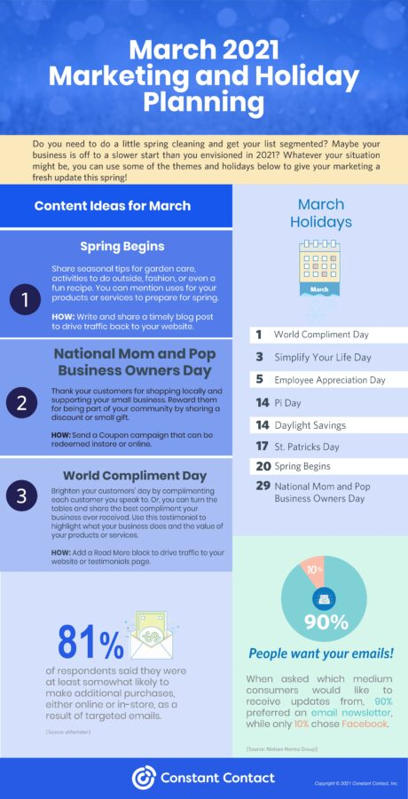 March 2021 Marketing Holidays